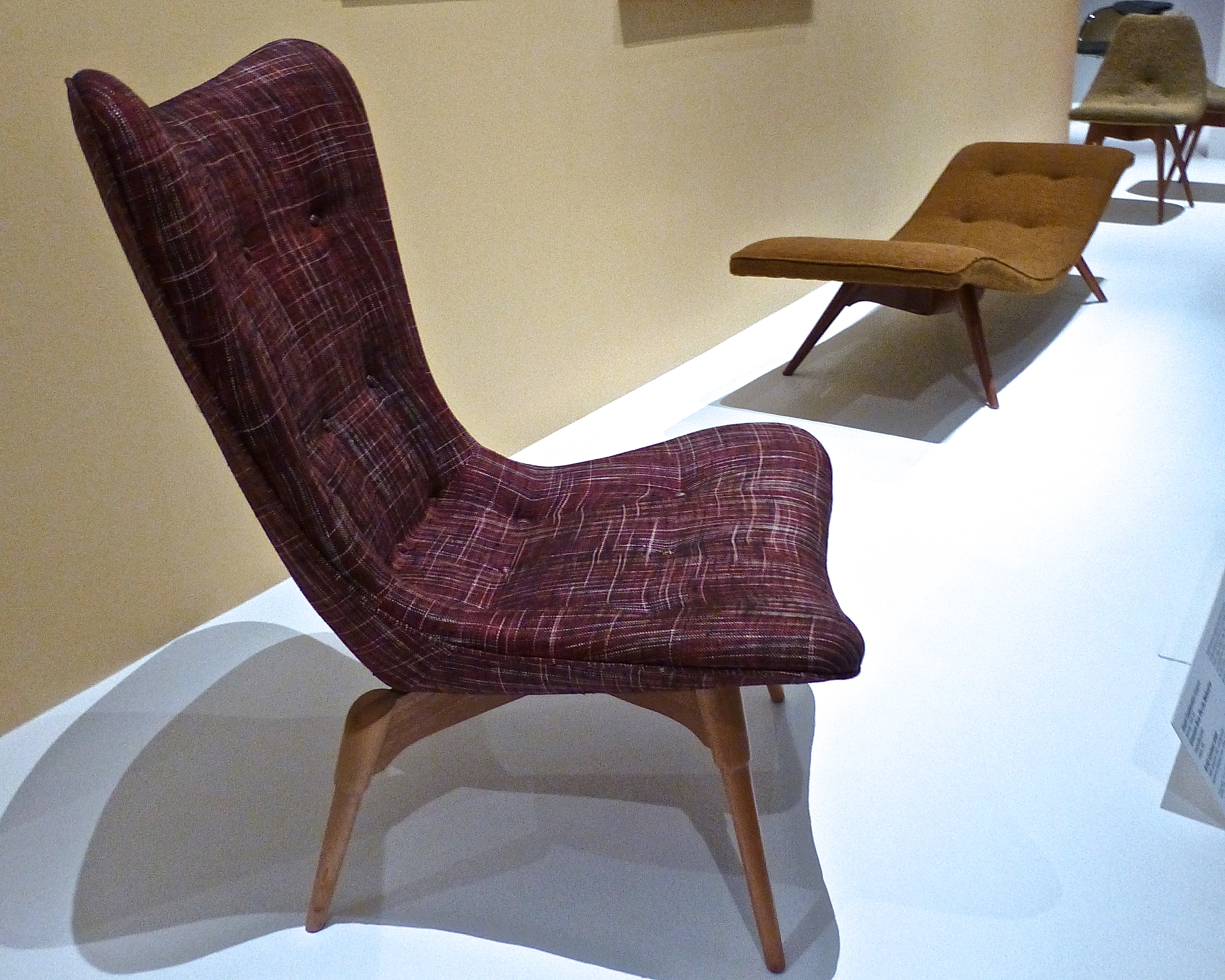 R152 Contour Chair by Grant Featherston, 1950