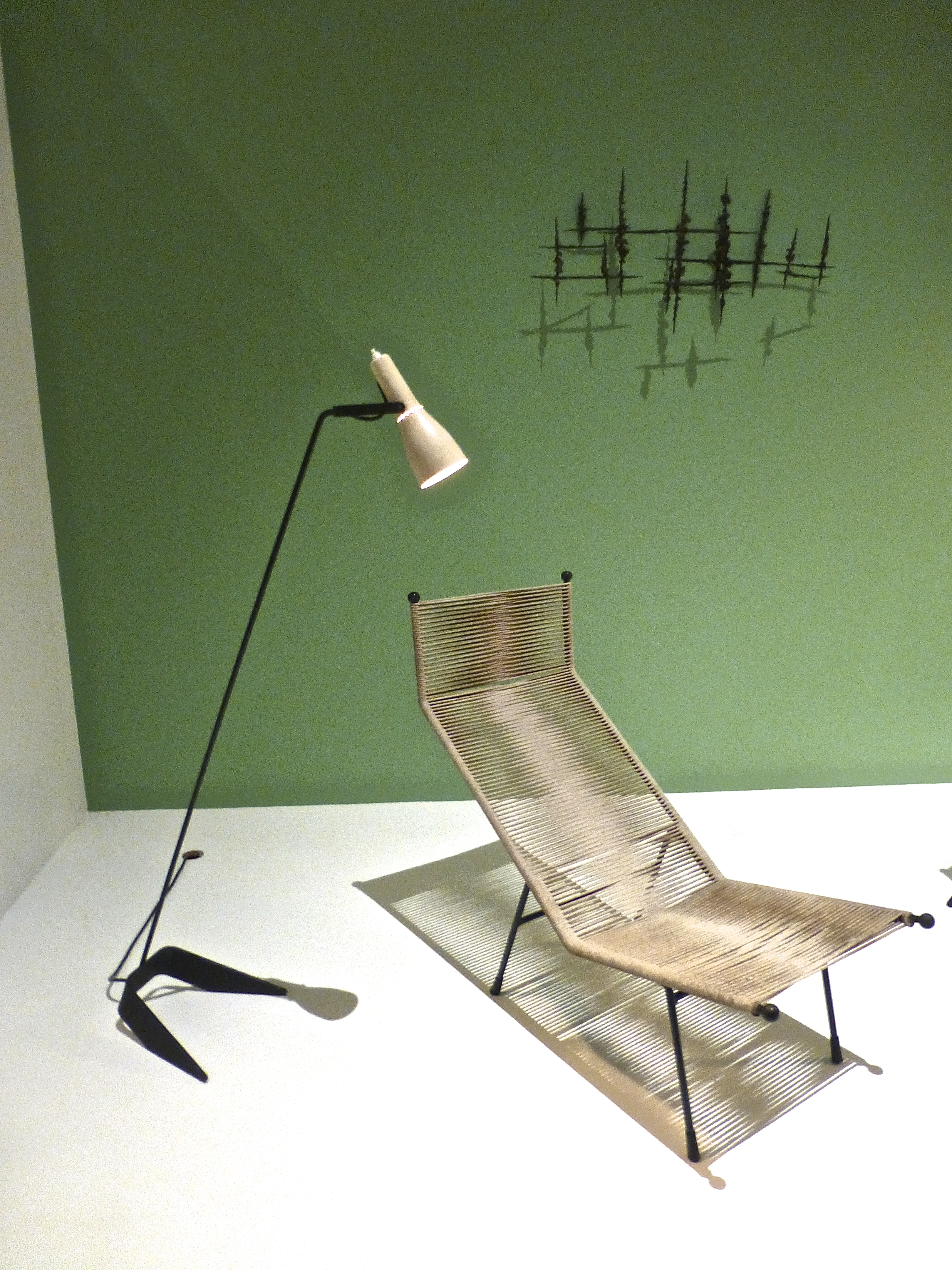 Calyx Standard Lamp & Reclining Chair by Clement Meadmore, 1953