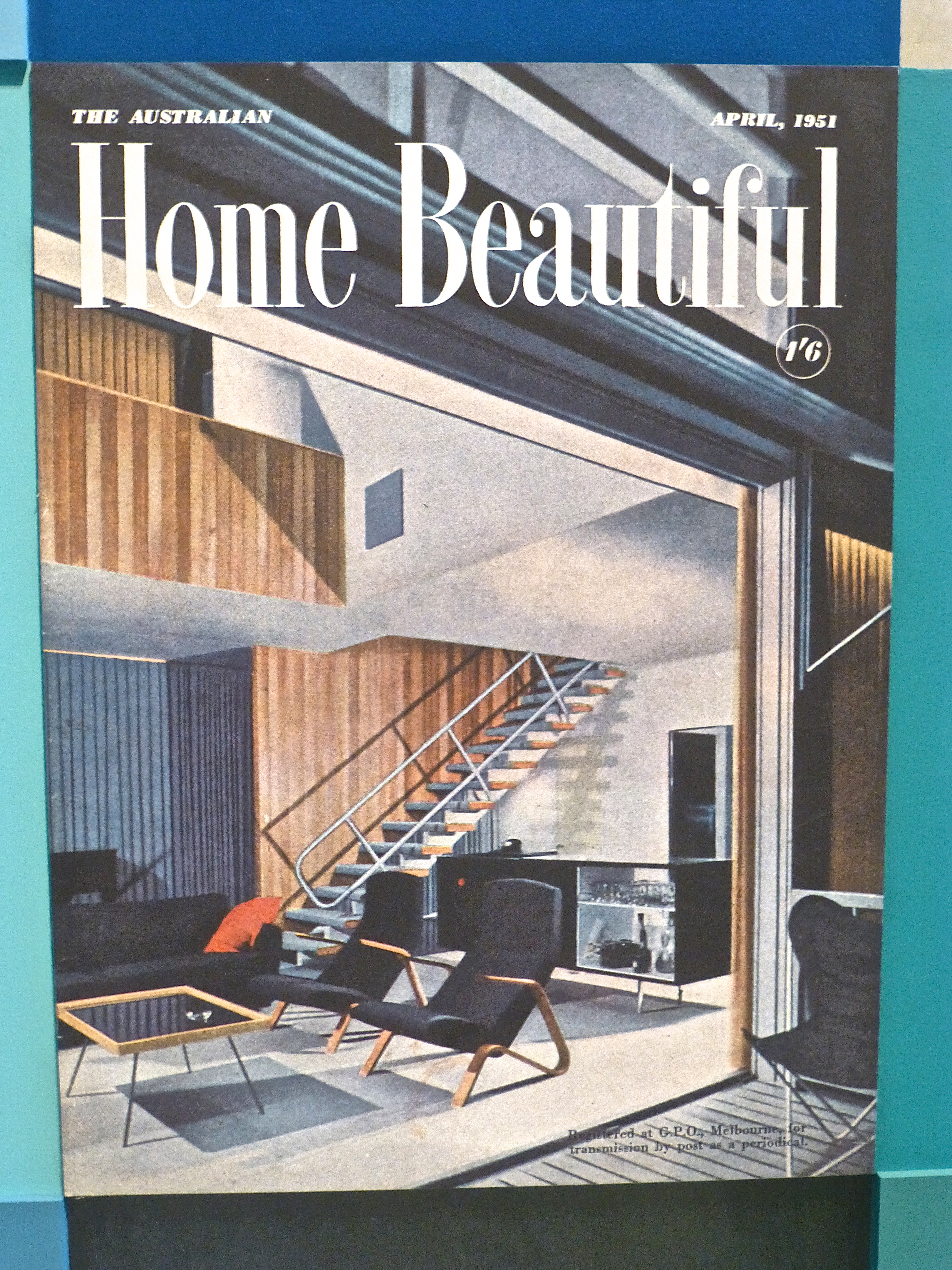 The Cover of Australian Home Beautiful Magazine, April 1951