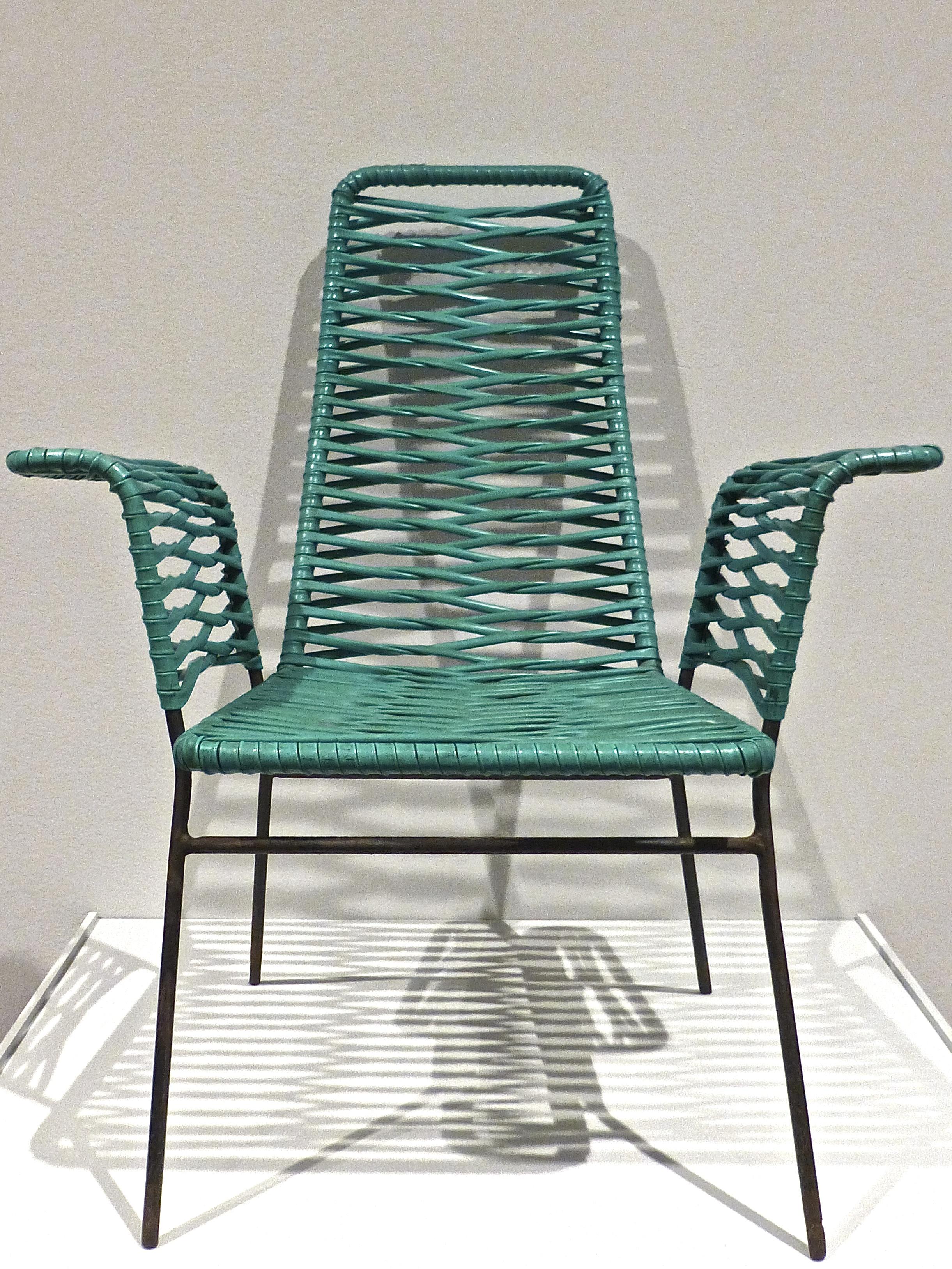 1950s armchair. Designer unknown