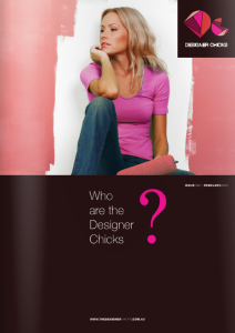 The Designer Chicks Issue 1