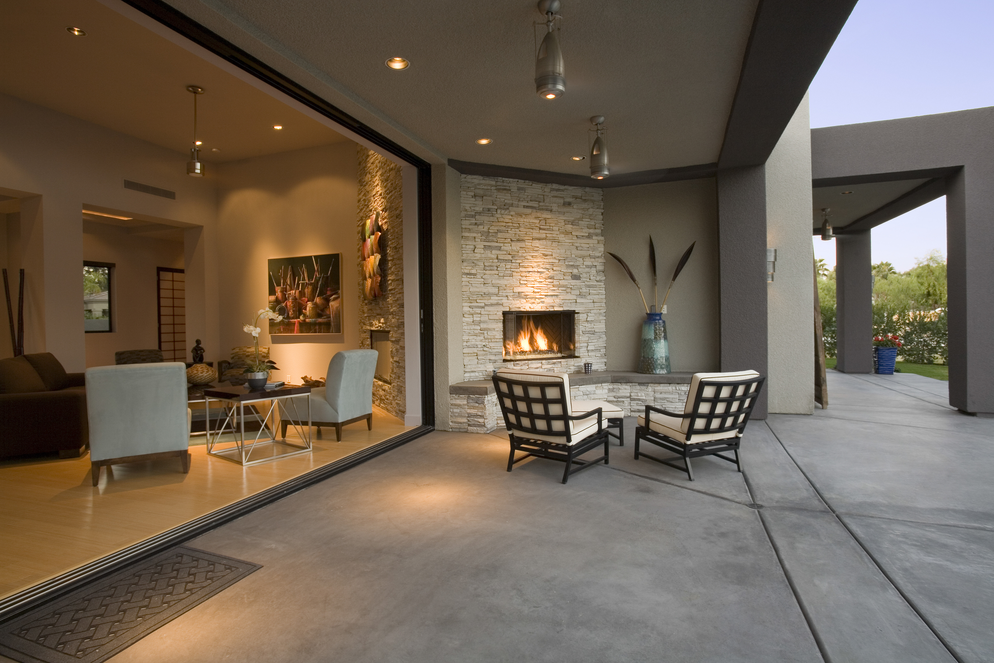 5 ways to enjoy your outdoor area in winter for Winter creative interior design