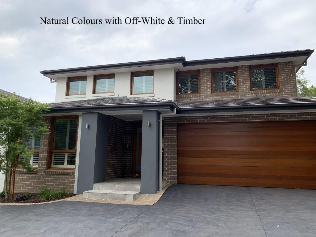 Natural Colours Exterior Colour Scheme