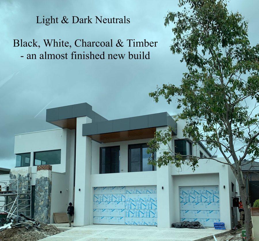 Light & Dark Neutral Exterior Colour Scheme