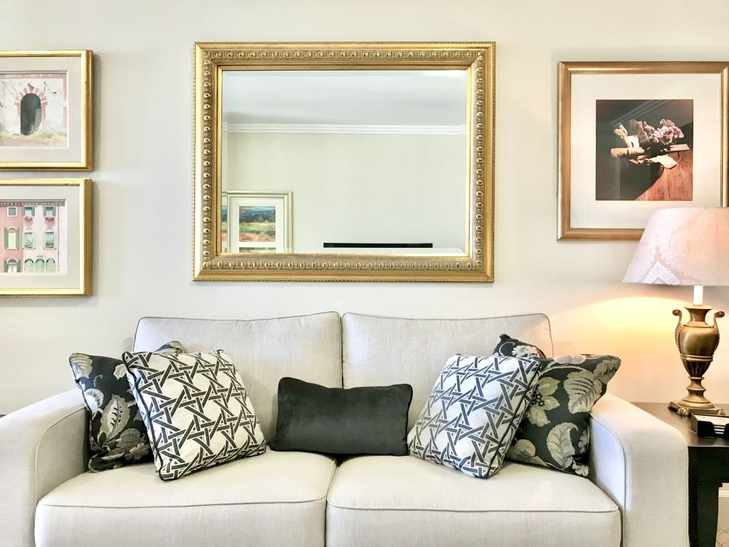 Classic Style Living with Styled Sofa