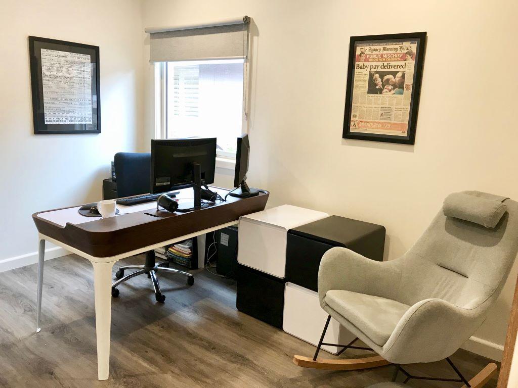 Contemporary Retro Home Office