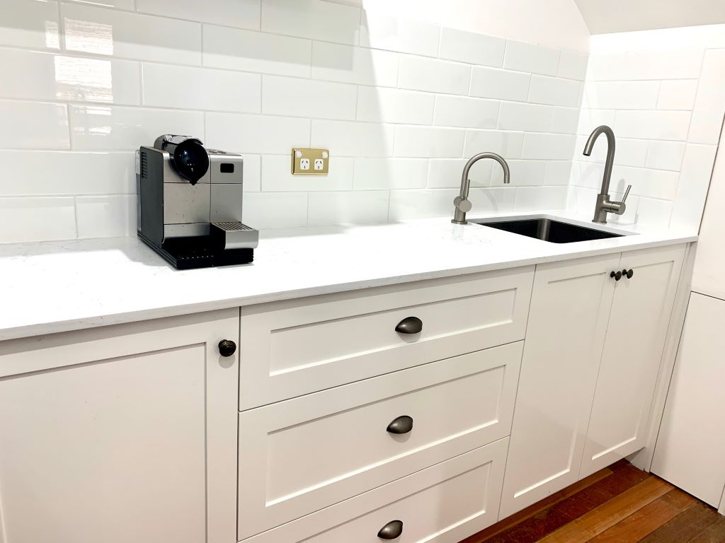 Hamptons Style Butlers Pantry with Sink
