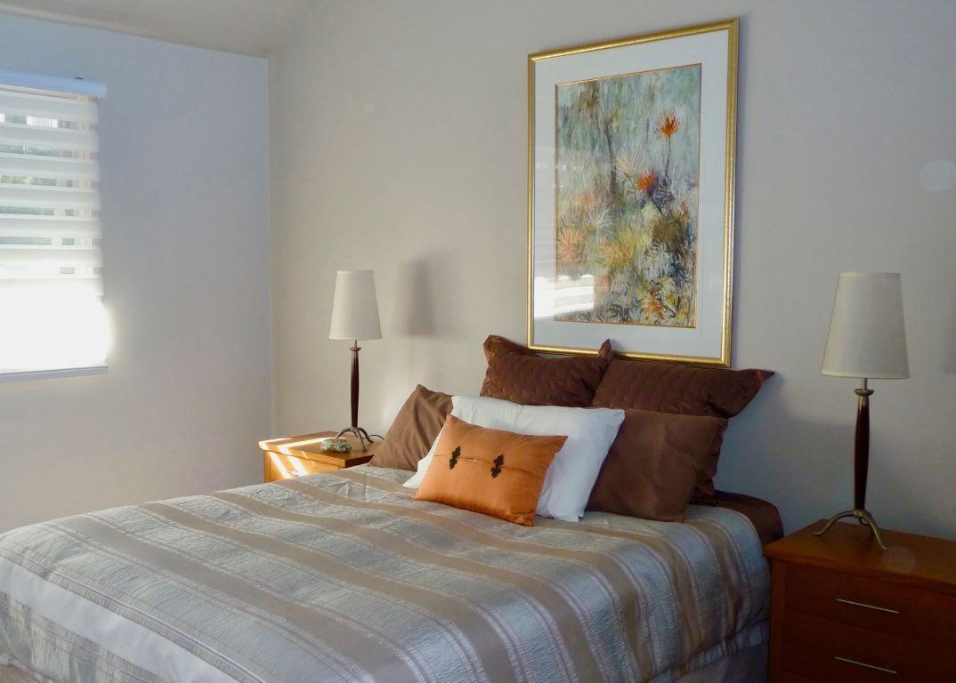 Master Bedroom in Autumn Tones