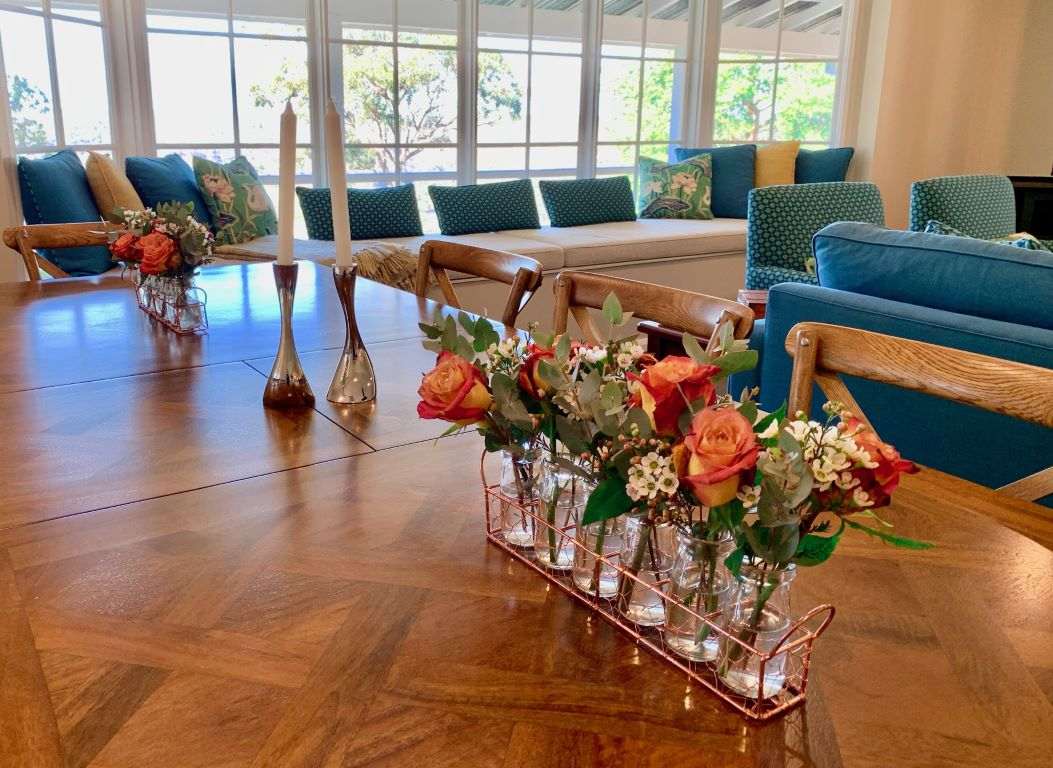 Modern Country Dining Table Vignette