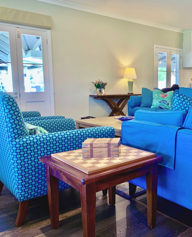 Modern Country Patterned and Plain Upholstered Seating