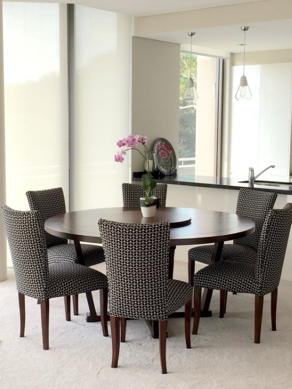 Modern Dining Space with Round Table