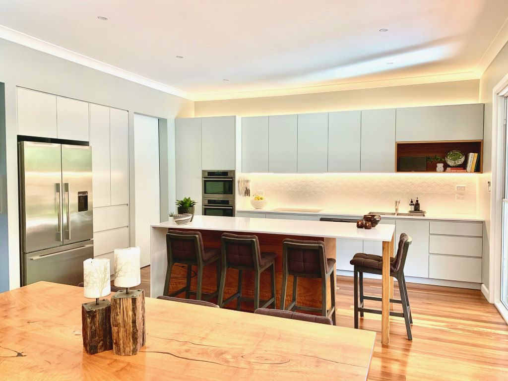 Modern Rustic Kitchen-Dining Space