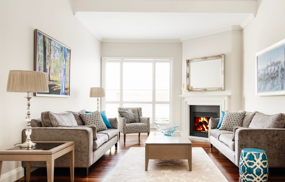 Transitional Formal Living Space