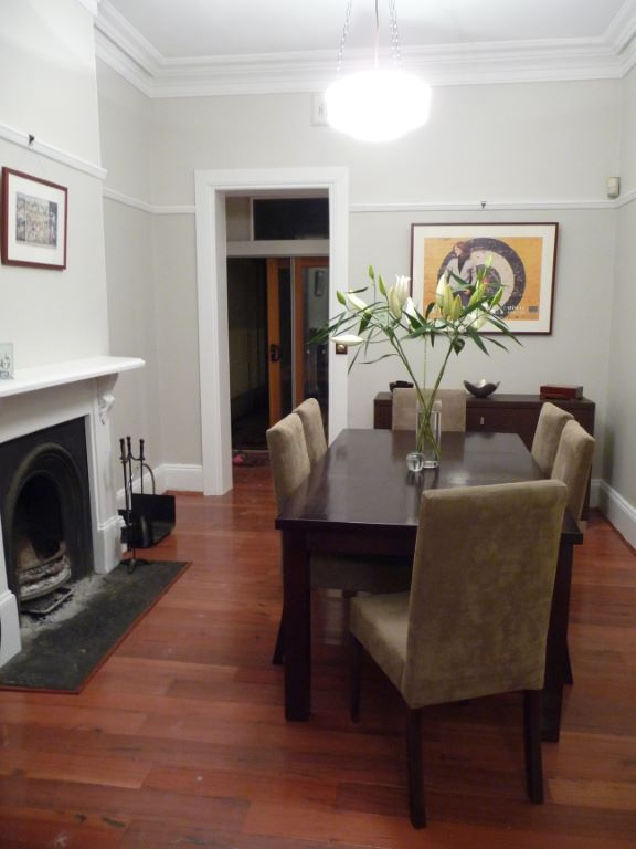 Transitional Style Dining Room